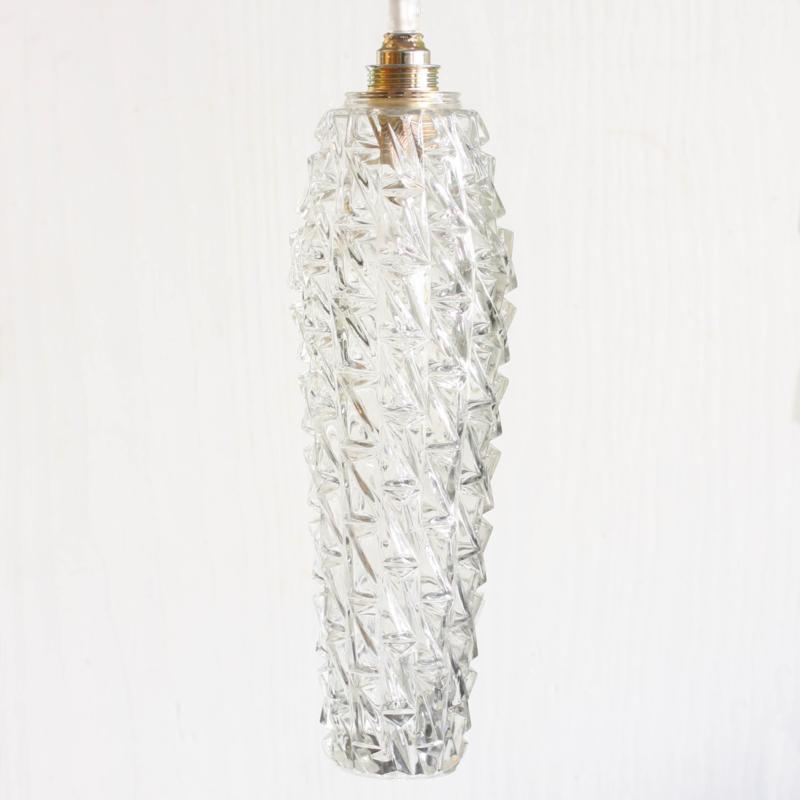 Oud Glazen Lampekapje.Vintage Lampenkap Glas Groen Geel Brocante Lampje
