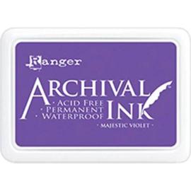 ranger archival ink majestic violet