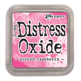 distress oxide picked rasberry