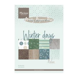 MD pretty paper bloc winter days