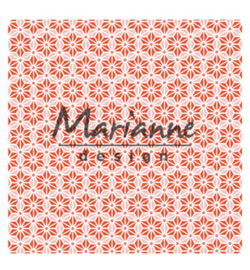 marianne design 3D embossing folder japanese star