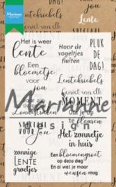 Marianne Design - Clearstamp Teksten - LENTE