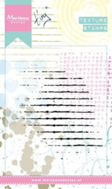 Marianne Design - Clearstamp - Texture Grid