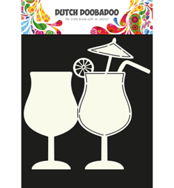 DDBD card art cocktail