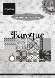 MD pretty paper bloc baroque