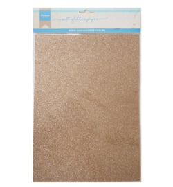 MD soft glitter paper bronze