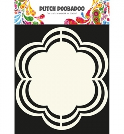 dutchdoobadoo shape art bloem