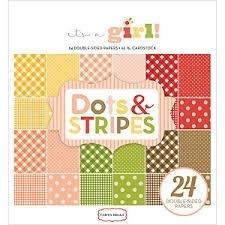 carta bella dots & stripes it's a girl