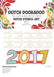 DDBD stencil art numbers