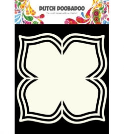 Dutchdoobadoo shape art flower 4 petals