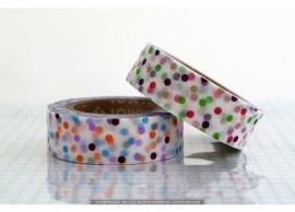 mix drop green-lavender washi tape 110527