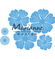 MD creatables anjas mooie bloemen set