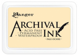 ranger archival ink pale ochre