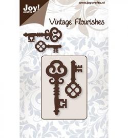 JC vintage flourishes sleutels 1