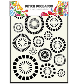 dutchdoobadoo mask art circles