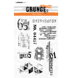 Studio Light - Clearstempel Grunge Collection