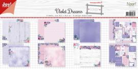 Noor! Design - Paperpad 30,5 x 30,5 cm - Violet Dreams