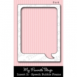 MFT Die-namics Insert it - Speech Bubble frame