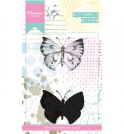 Marianne Design - Layering Stamps - Tiny`s butterfly