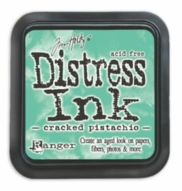 distress ink cracked pistachio