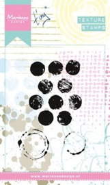 Marianne Design - Clearstamp - Texture Dots