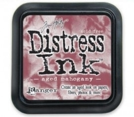 distress ink aged mahogany