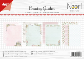 Joy! Crafts - Paperpad A4 - country garden