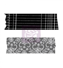 Prima marketing washi-tape rubber stamp (2st)