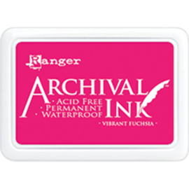 ranger archival ink vibrant fuchsia