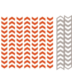 marianne design embossing folder + die tire track