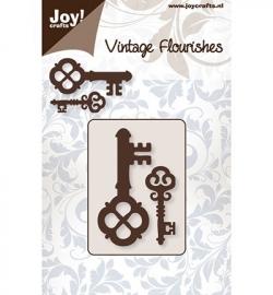 JC vintage flourishes sleutels 2