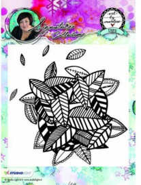 Studio Light - ART BY MARLENE - Cling Stamp Background 10