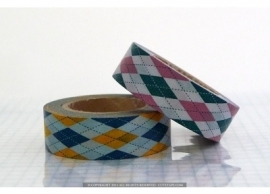 argyle-japanse washi tape 110513