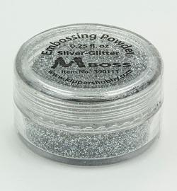 embossing poeder silver- glitter