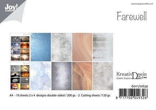 Joy! Crafts - Paperpad A4 - Farewell