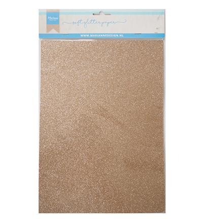 MD soft glitter paper bronze