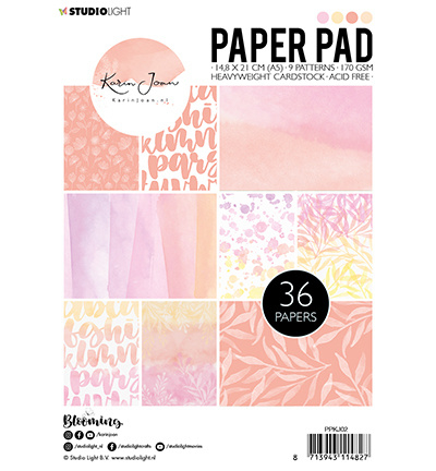 Paper Pad, Karin Joan Blooming Collection nr.02