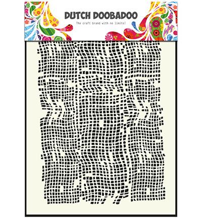 dutchdoobadoo mask art  burlap