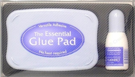 glue stamp pad