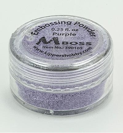 embossing poeder purple