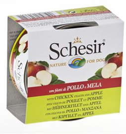 Schesir Dog Fruit Chicken & Apple 10 x 150 gr