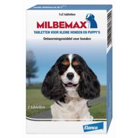 MILBEMAX - KLEINE HOND & PUPPY'S 2 TABLETTEN VAN 0,5 KG TOT 10 KG
