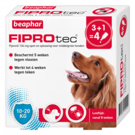 Beaphar FiproTec Dog 10-20kg 3+1