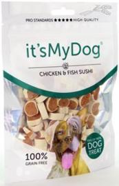 it's My Dog Chicken & Fish Sushi 85 gr