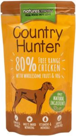 Natures Menu Dog Country Hunter Pouch Chicken 6 x 150 gr