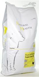 Natural Health Dog Chicken & Rice Puppy Large bite 12,5 kg