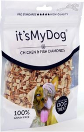 it's My Dog Chicken & Fish Diamonds 85 gr
