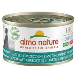 Almo Nature Dog HFC Complete Lam Courgette Millet Dille 24 x 95 gr
