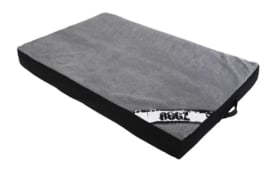 ROGZ LOUNGE POD FLAT BLACK ON GREY - SMALL