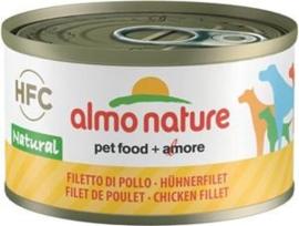 Almo Nature Dog HFC Natural Kipfilet 24 x 95 gr
